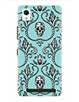Noise The Devil Pattern Printed Cover for Intex Aqua Power Plus