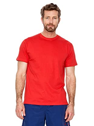 Cortefiel Camiseta Básica (Rojo)