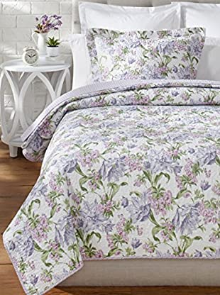 Laura Ashley Sherborne Quilt Set