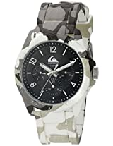 Quiksilver Analog Black Dial Men's Watch - QS-1016-BKGY