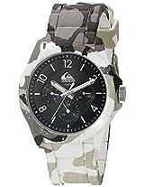Quiksilver Analog Black Dial Men's Watch - QS-1016-BKGY