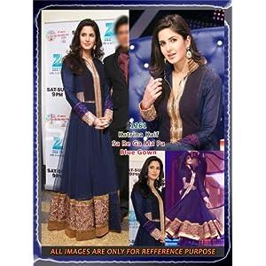 Katrina Kaif Blue Gown