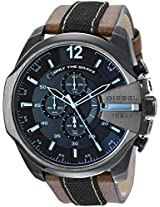 Diesel Mega Chief Chronograph Multi-Color Dial Men's Watch - DZ4305