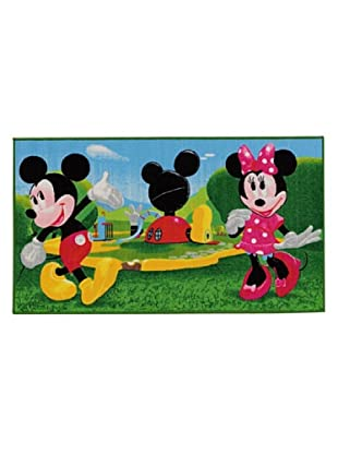 ABC Alfombra Disney Mickey Mouse Clubhouse (Verde/Azul)