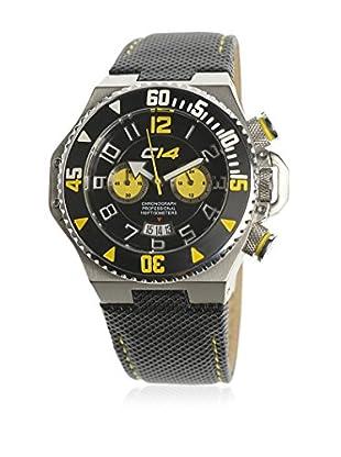 Carbon Reloj de cuarzo Man 42 mm