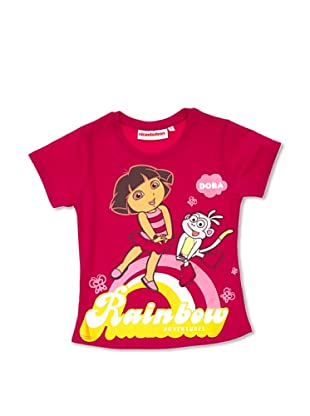 Licencias Camiseta Dora Exploradora (Fucsia)