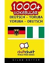 1000+ Deutsch - Yoruba Yoruba - Deutsch Vokabular