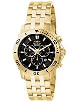 Invicta Analog Black Dial Men's Watch - 6793