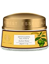 Forest Essentials Revitalising Kashmiri Walnut Gel Scrub, 50g