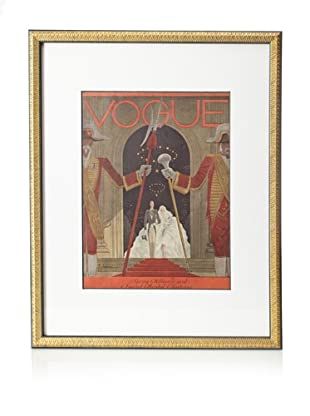 Original Vogue Cover from 1929 by Georges Lepape