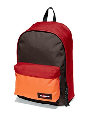 Eastpak Mochila Out Of Office (Rojo / Marrón / Naranja)