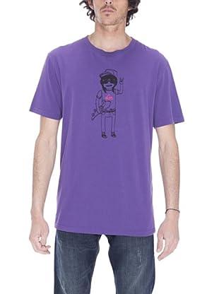 Quiksilver Camiseta Organic Buddy (Violeta)