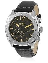 Baker Es106391001-N Black/Black Chronograph Watch Esprit