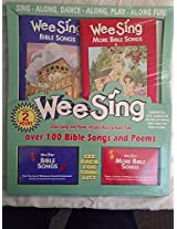 Wee Sing Bible Songs And Poems 2 Pk (Books & Cassettes)