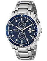Fossil Wakefield Analog Blue Dial Men's Watch - CH2937