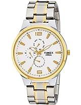 Timex Empera Multi-Function Analog White Dial Men's Watch - TI000K10600