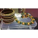 Beautiful silk thread jewellery set