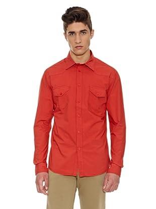 Carrera Jeans Camisa Popeline (Rojo)