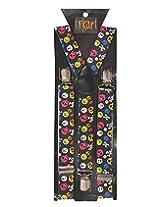 Tiekart Mens Y-Back Suspender (Sus214_Multi-Coloured)