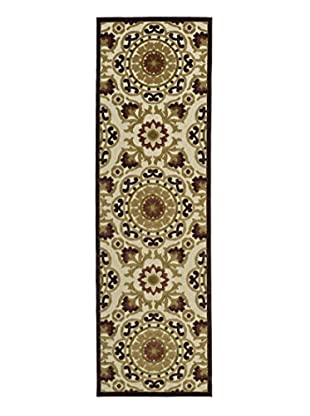 Kaleen Five Seasons Indoor/Outdoor Rug, Khaki, 2' 6
