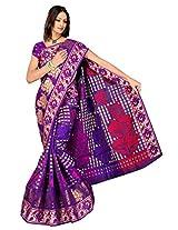 Saree Sansarr Saree (7113_Purple)