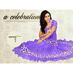Indianboutique Anarkali Tunic Suit - Purple