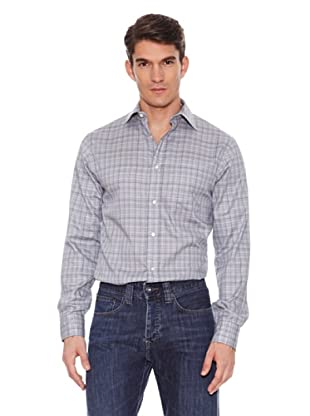 Hackett Camisa Cuadros (Gris / Azul)