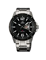 Orient Analogue Black Dial Men Watch - (UG1X001B)