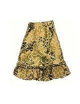 Romano Girl's Brown Skirt