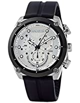 Lancaster Trendy Silicone Strap Analogue White Men's Wacth-OLA0380BN