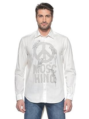 Love Moschino Camisa Manga Larga (Blanco)