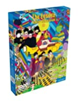 Beatles Yellow Submarine 1000 Piece Jigsaw Puzzle By Aquarius