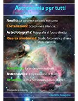 Astronomia per tutti: volume 6