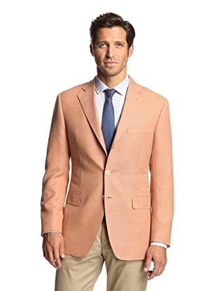 Nikky Men's Sport Jacket (Soft Orange)
