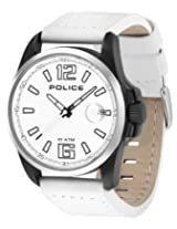 Police Analog White Dial Men's Watch - PL12591JSBS/01