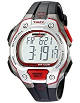 Timex Men s T5K6899J Ironman Traditional 50-Lap Full-Size Black Silver-Tone and Magenta Resin Strap Watch