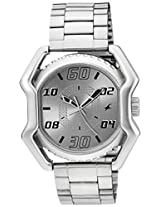 Fastrack Analog Silver Dial Men's Watch - 3112SM01