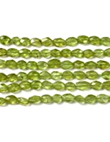 Faceted Peridot Ovals