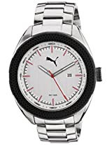 Puma Analog Silver Dial Men's Watch - 89225303