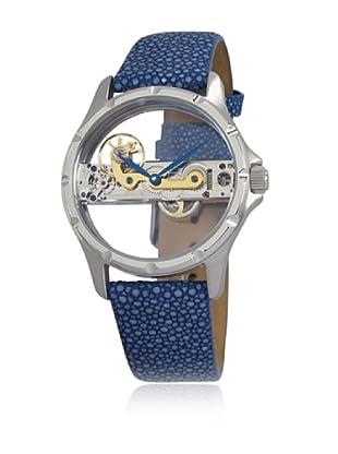 Reichenbach Uhr mit Handaufzug Woman Detjens blau 38 mm