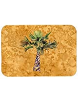 Caroline's Treasures 8706CMT Palm Tree on Kitchen or Bath Mat, 20 by 30 , Multicolor