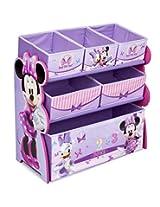 Delta Enterprise Minnie Multi-Bin Toy Organizer