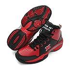 Vector X Slamdunk 002 Basketball Shoes, Men's UK 7 (Red/Black)