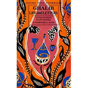 Ghalib Life and Letters