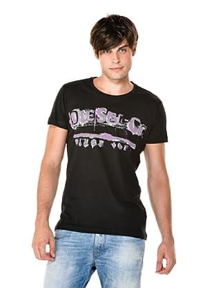 Diesel Camiseta Ink (Negro)
