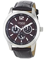 Caravelle by Bulova Men's 43C104 Multifunction Brown Dial Watch