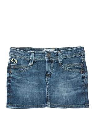 Pepe Jeans London Falda Saturn Skirt (Vaquero)