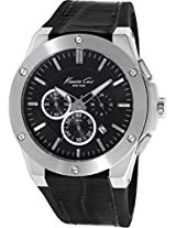 Kenneth Cole Dress Sport Analog Black Dial Men's Watch - IKC8086