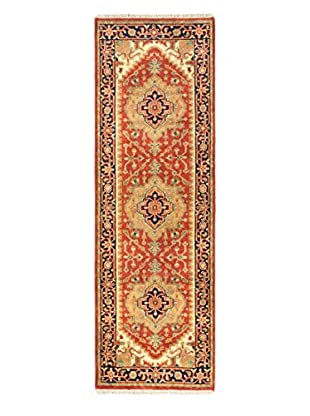 eCarpet Gallery One-of-a-Kind Hand-Knotted Serapi Heritage Rug, Copper, 2' 6