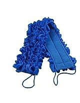 Huachnet Exfoliating Bath Sponge Shower Pouf Loofah Back Scrubber (Dark Blue)